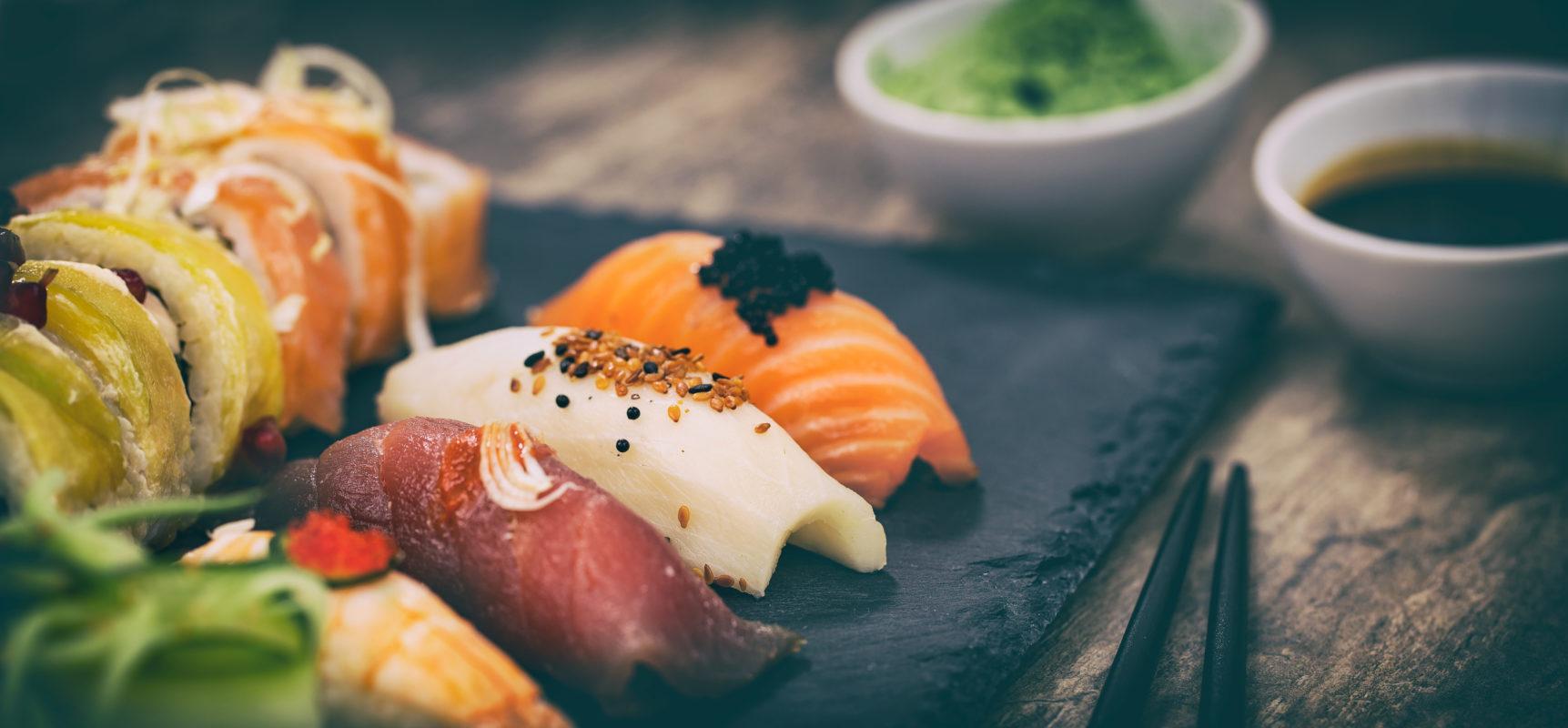 Das beste Sushi im Chiemgau